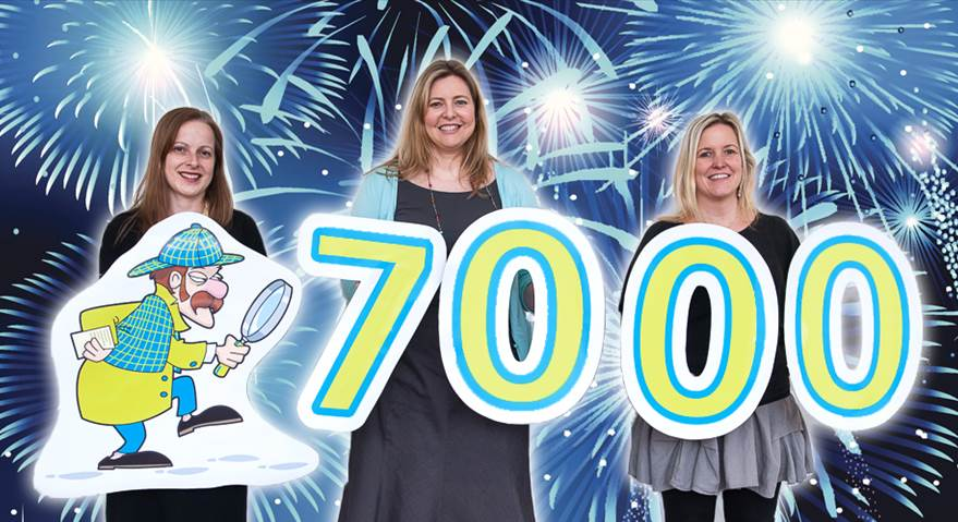 Find it in worcestershire nears its 7000th member