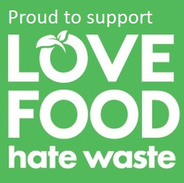 logo for Love Food Hate Waste