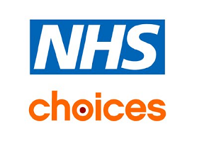 NHS Choices logo (external website)
