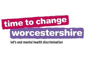 Time to Change Worcestershire Logo