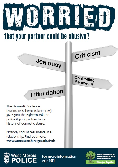 Worried that your partner could be abusive? Jealousy? Criticism? Controlling Behaviour? Intimidation?