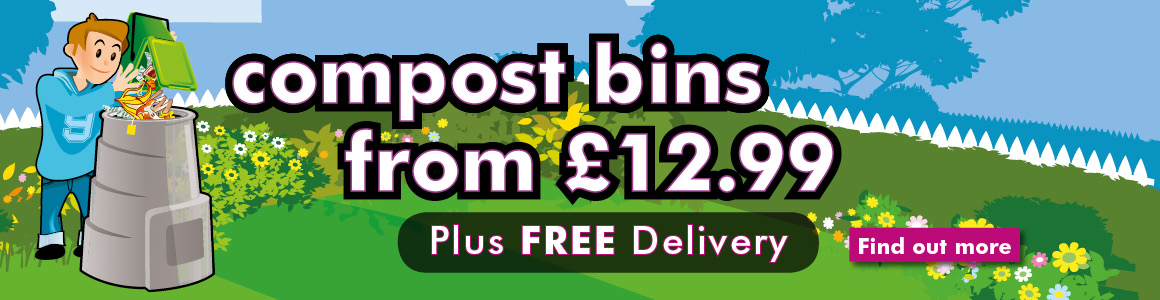Compost bins from £12 99 plus free delivery