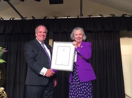 Volunteer run village shop is awarded The Queen's Award for Voluntary Service