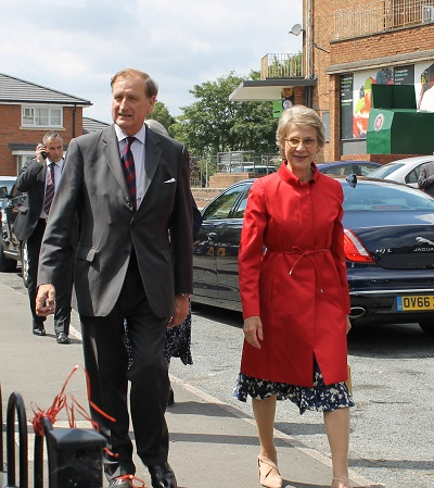 HRH The Duchess of Gloucester visits Worcester