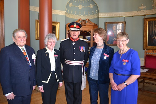 Recognition for four outstanding Worcestershire citizens