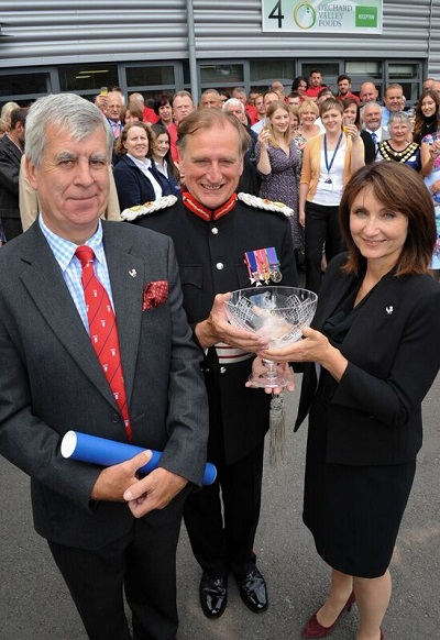 Orchard Valley Foods receives a Queen's Award for Enterprise