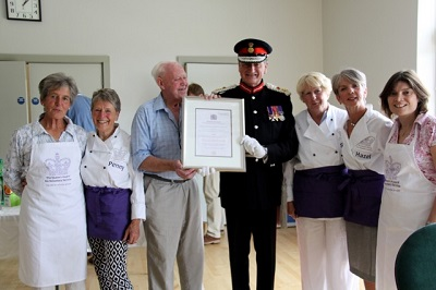 Village lunch group win Queen's Award for Voluntary Service