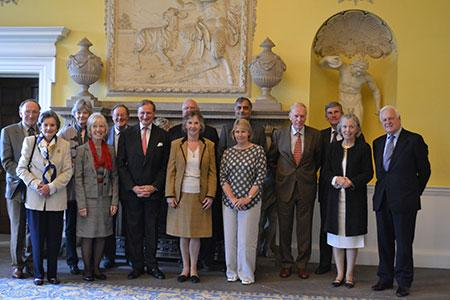 Lord-Lieutenant with Deputy Lieutenants October 2015