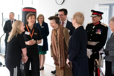 The Princess Royal Visits New College Worcester