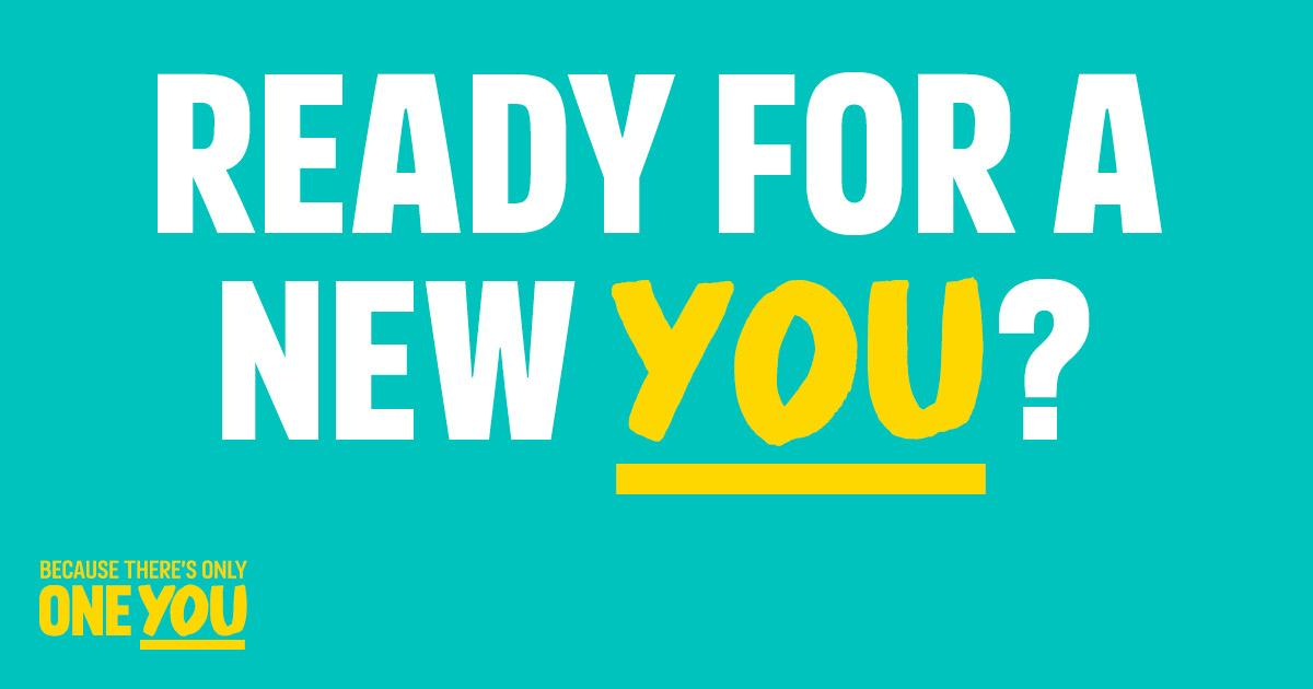 Ready for a New You?