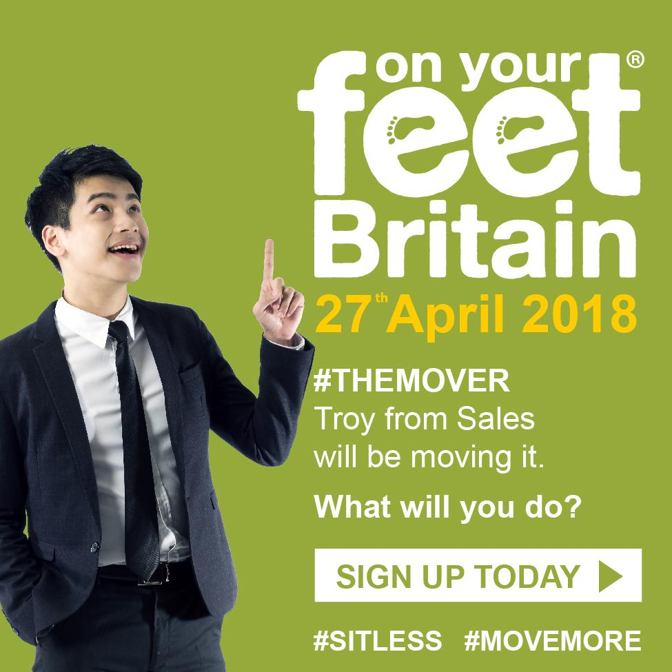 On Your Feet Britain 2018