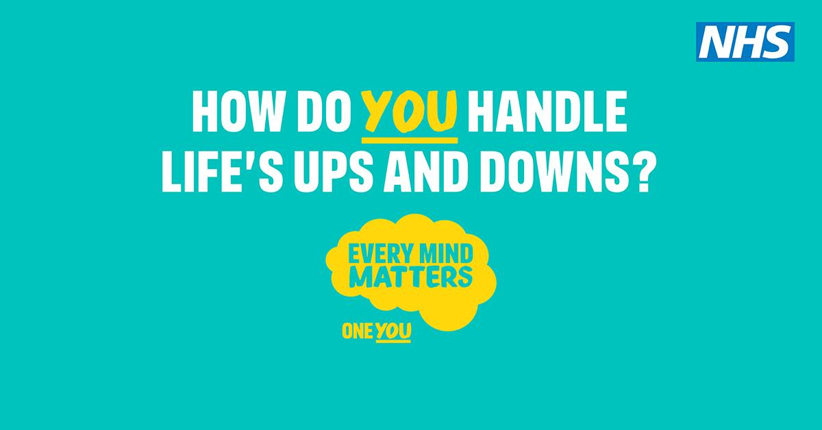 Public Health England Every Mind Matters Campaign Launched