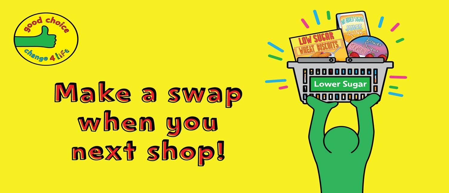 Change4Life launches new sugar swaps campaign