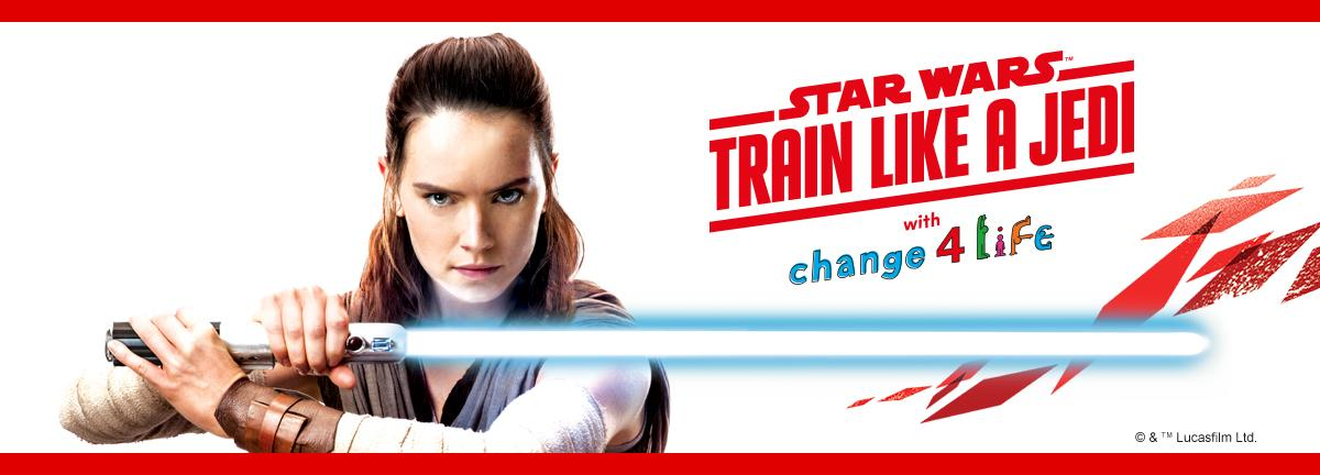 Help get kids ready to 'Train Like A Jedi' this summer?