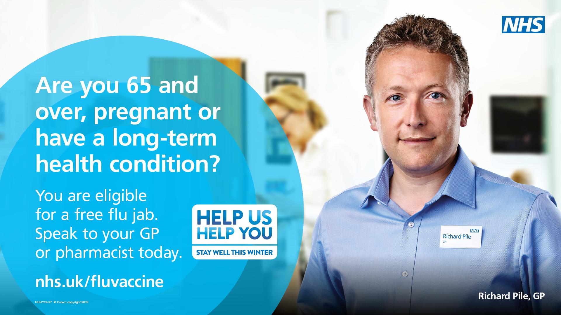 Time to get you Flu Vaccination