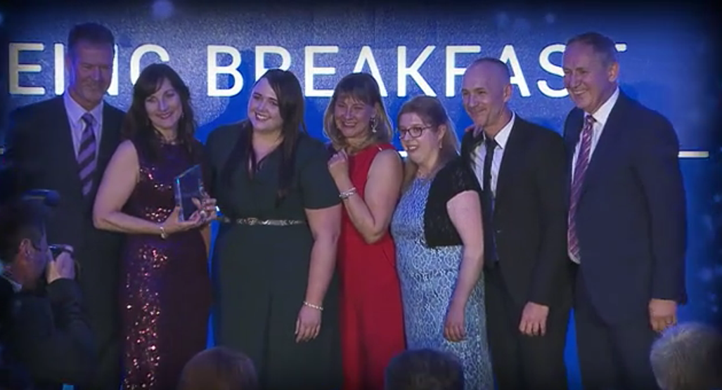 Qinteq Health Champions Win Award for Well-being Breakfasts